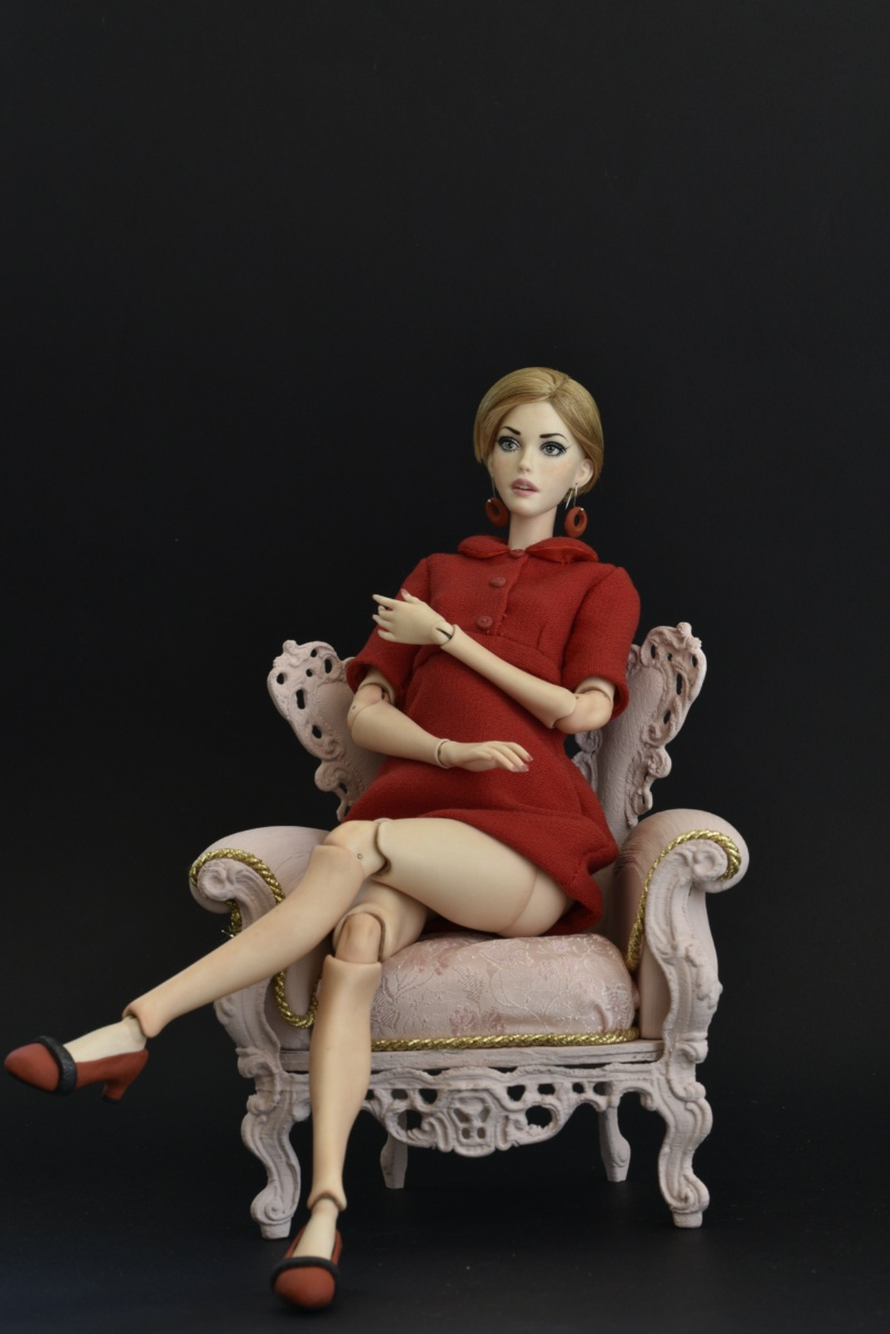 Ball Jointed Doll Twiggy Carnaby Style